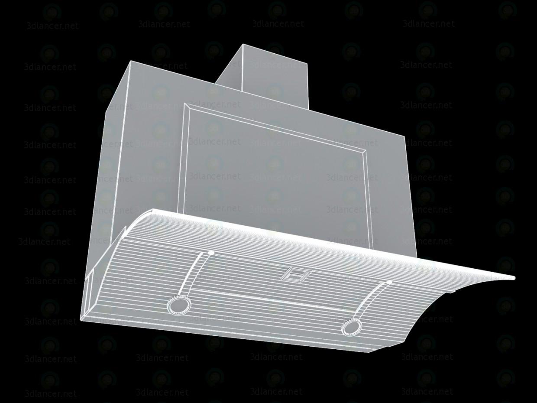 3d Вытяжка Elica Glide SoftIX А-60 модель купить - ракурс