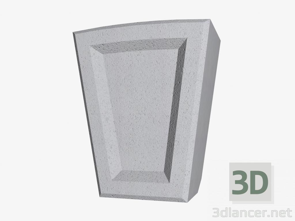3d model Keystone (FZ38DA) - preview