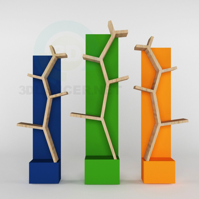3d model Shelves 'branch' - preview