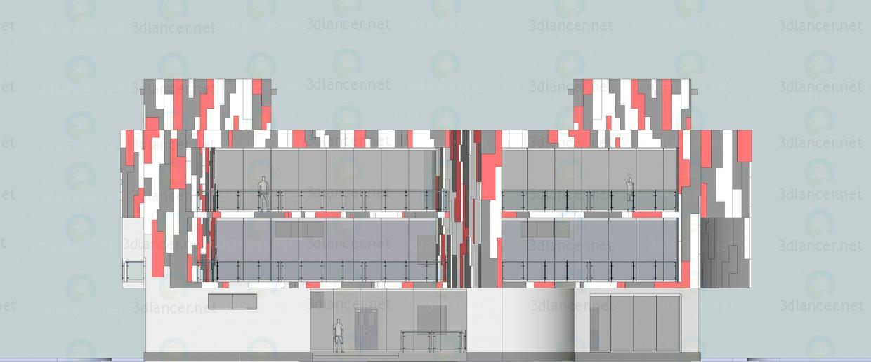 3d модель Торговый центр – превью