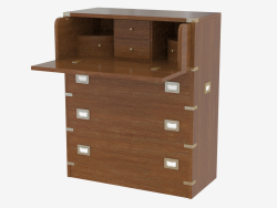 Bureau in a marine style with a table