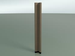 Corner panel 6416 (90 °, 132.5 x 13 cm, solid)