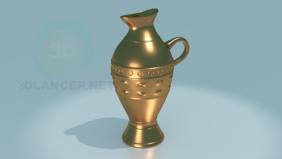 3d model jug - preview