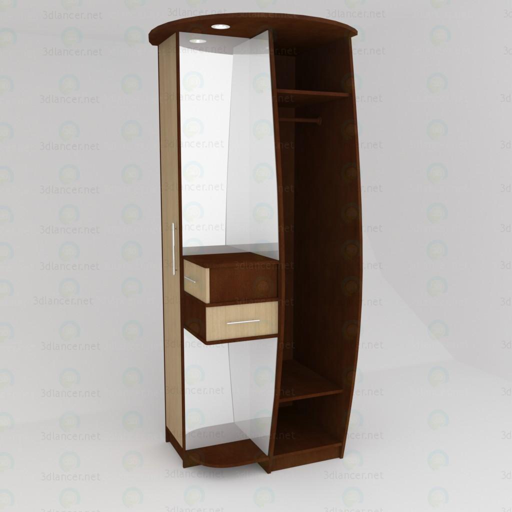 3d model Corner cabinet - preview