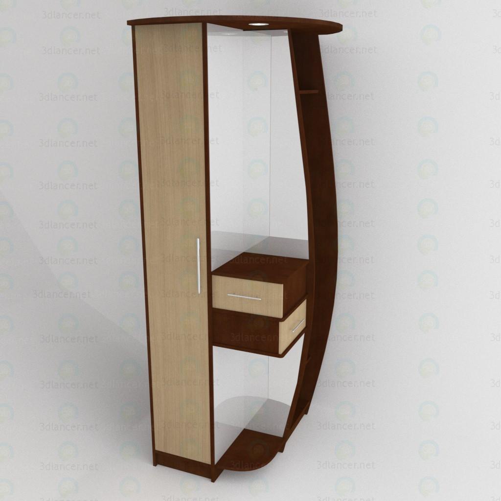 modelo 3D Gabinete de esquina - escuchar