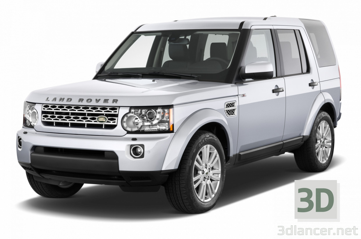 3d model Land Rover Discovery Sport high-quality - preview