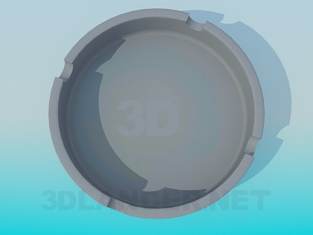 3d model Ashtray - preview