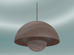 लटकन दीपक फ्लावरपॉट (VP2, lamp50cm, H 36cm, बेज लाल)