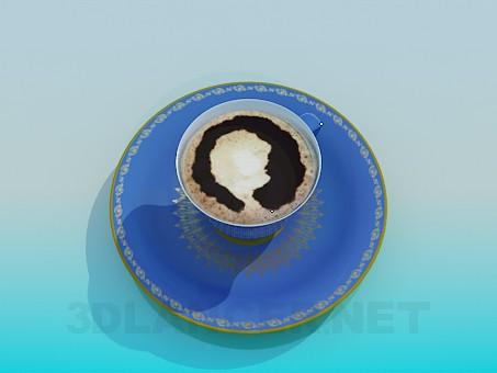 descarga gratuita de 3D modelado modelo Tapa de cofe