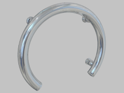 Steel wall holder in the form of a horseshoe Vital (NIV 041G)