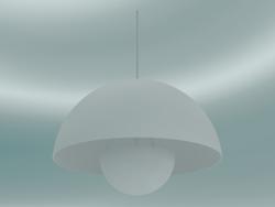 लटकन दीपक फ्लावरपॉट (VP2, ,50cm, H 36cm, मैट व्हाइट)