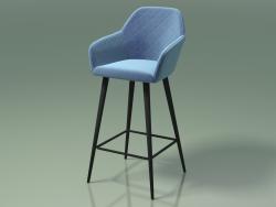 Bar chair Antiba (112914, midnight blue)