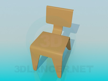 3d model Chair for a child - preview
