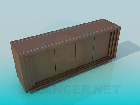 3d model Shoe cabinet - preview