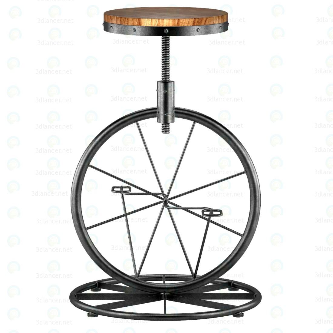 3d Велосипедне колесо - Барний стілець модель купити - зображення