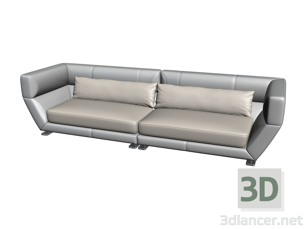 565443715bf2 3d model Sofa Orient express - preview