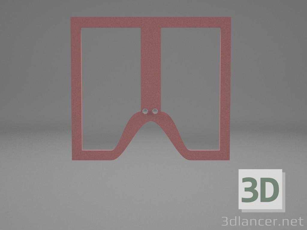 Modelo 3d Portas de armário de cozinha - preview