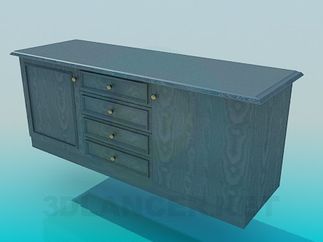 3d model Chest High Poly - preview