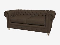 सोफा-बेड डबल 77 '' क्लब सोफा (अंधेरा)