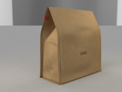 3D Paper Bag (Cofee Bag)