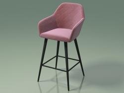 Half-bar chair Antiba (112919, pomegranate)