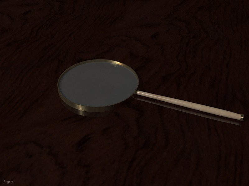 3d model Magnifier - preview