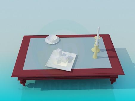 modelo 3D Mesa polietileno alta - escuchar