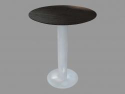 Table à manger (frêne teinté gris D60)
