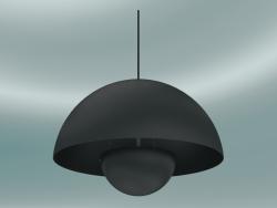 लटकन दीपक फ्लावरपॉट (VP2, ,50cm, H 36cm, मैट ब्लैक)