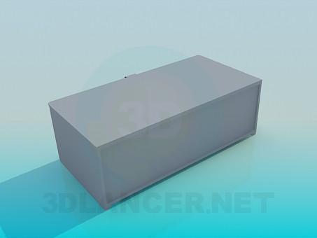 3d модель Тумба - подставка – превью