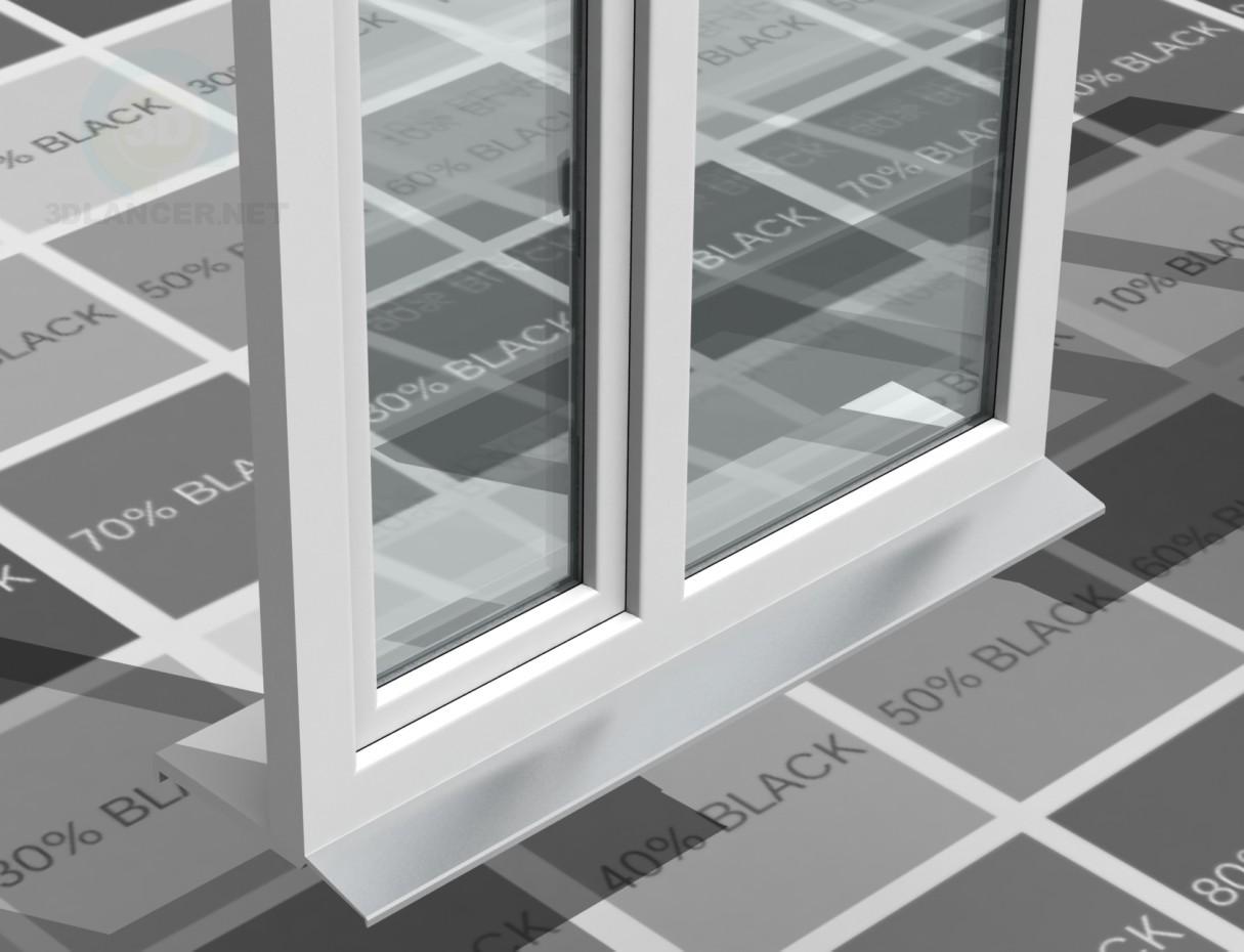 3d model PVC windows - preview