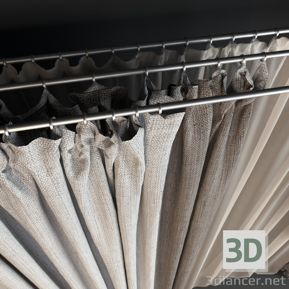 3d model Window Shades - preview