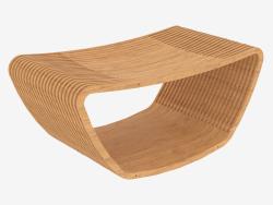 Coffee table made of wood Hula