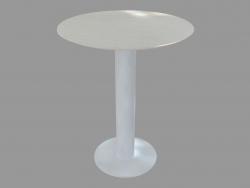 Table à manger (frêne teinté blanc D60)
