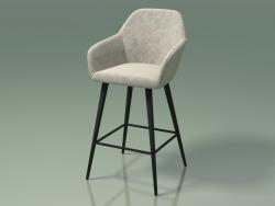 Cadeira de meia barra Antiba (111837, cinza pó)