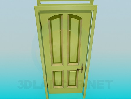 3d model Door entrance - preview