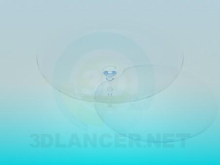 3d модель Стеклянная посуда – превью