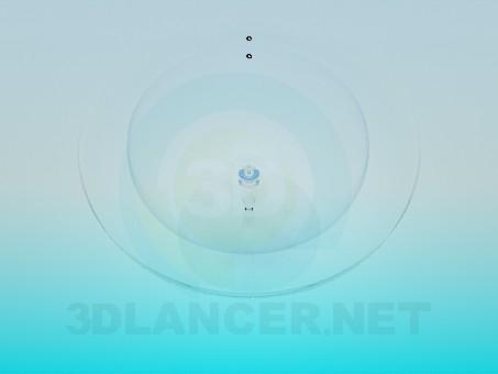 modelo 3D Cristalería - escuchar