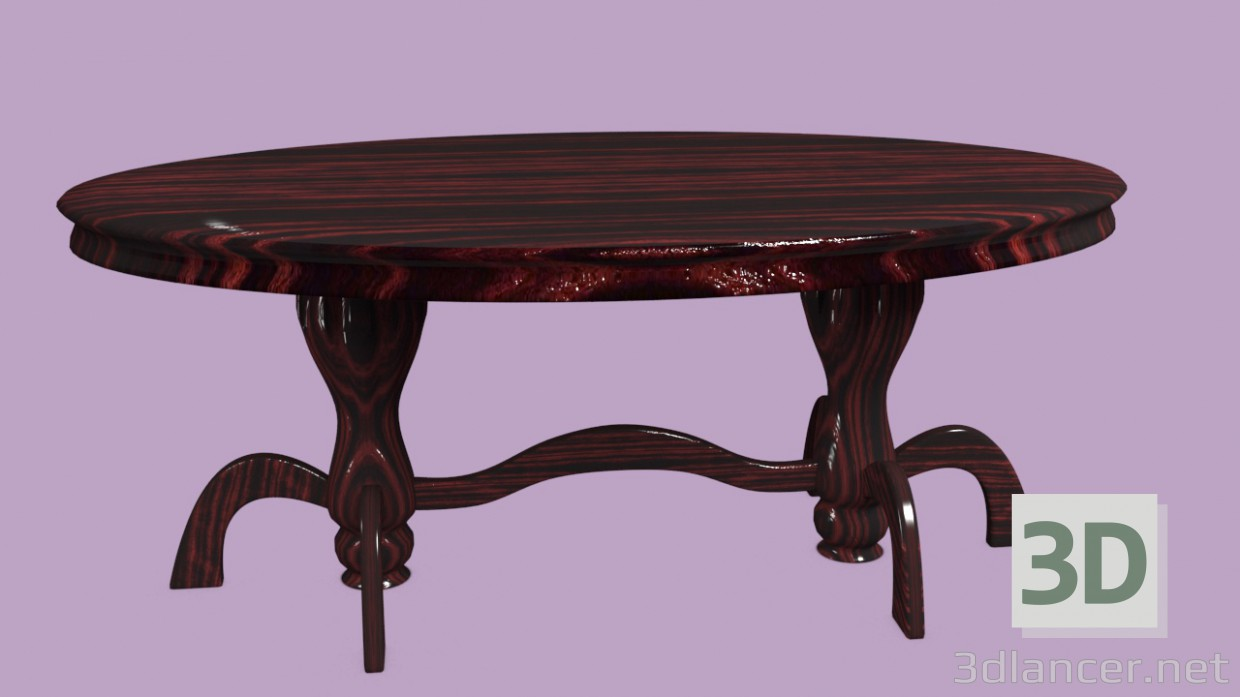 3d model table id 14785 for Table 3d model