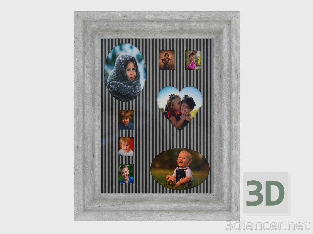 3d modell wandrahmen f r 8 fotos von ostersley 30258017 vom hersteller ikea id 24785. Black Bedroom Furniture Sets. Home Design Ideas