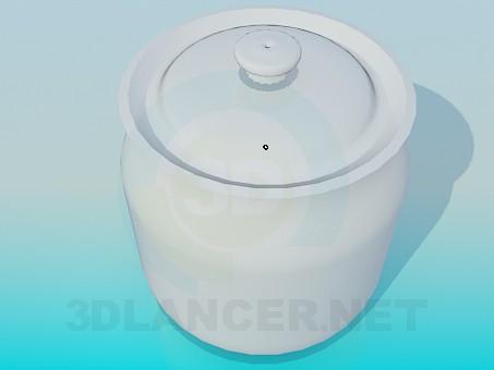 3d model Sugar-bowl - preview