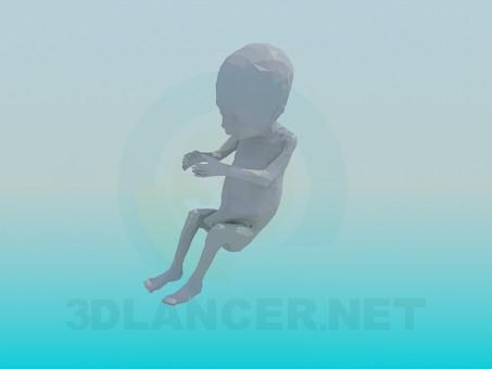 modelo 3D Embrión - escuchar