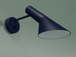 Wall lamp AJ WALL (20W E14, MIDNIGHT BLUE)