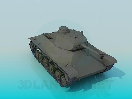 descarga gratuita de 3D modelado modelo Tanque T50