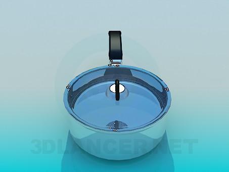modelo 3D Pan - escuchar