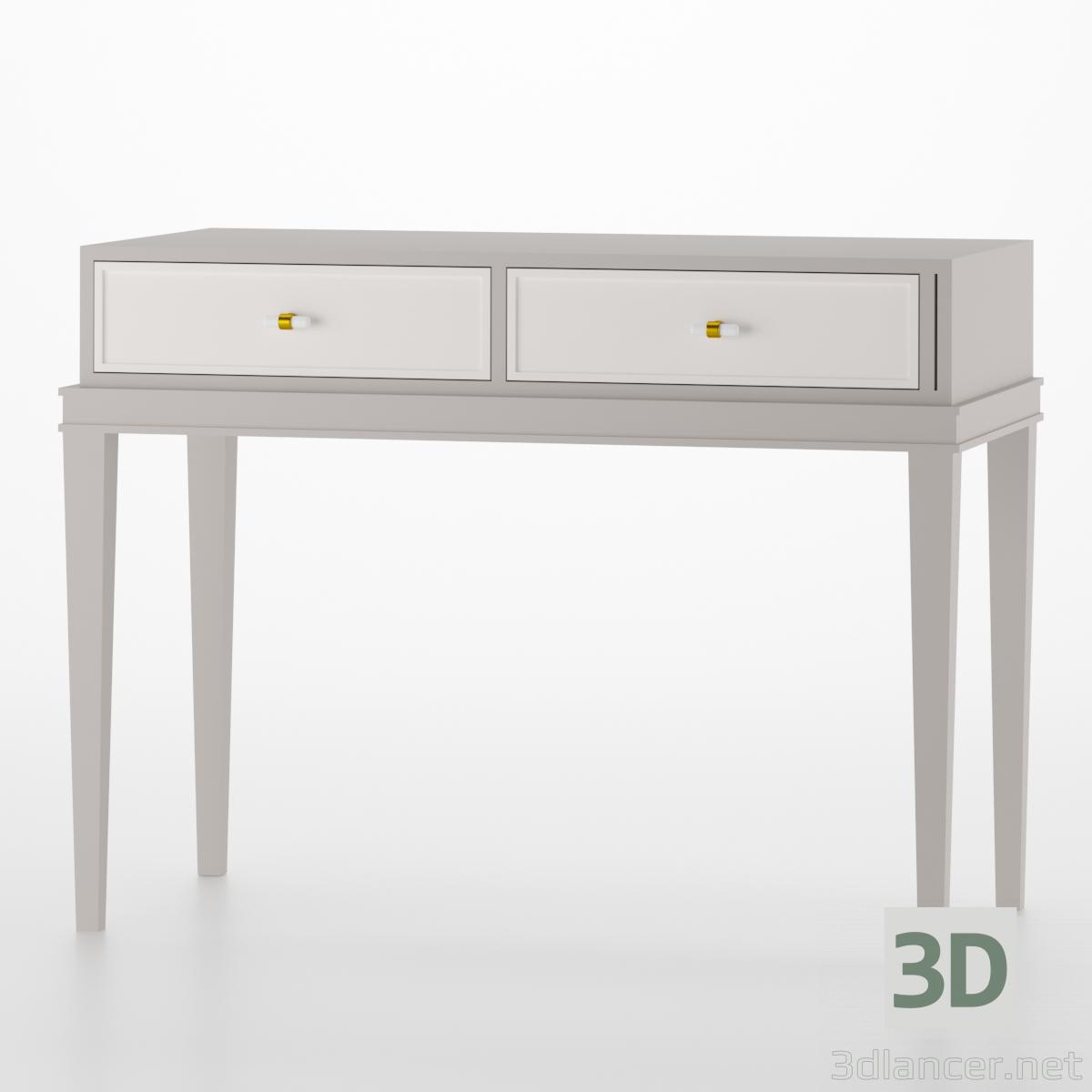 3d model Evans dressing table - preview
