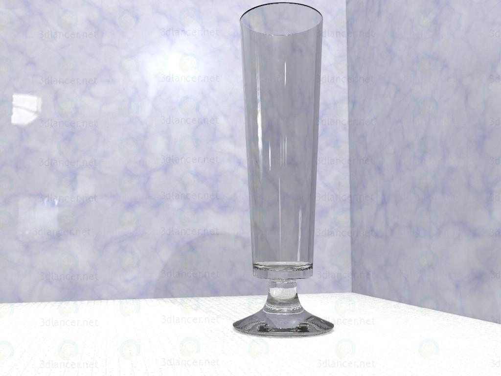 modelo 3D Vaso de cerveza - escuchar
