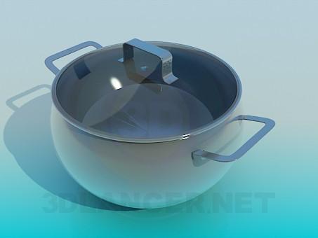 modelo 3D Cazuela de - escuchar