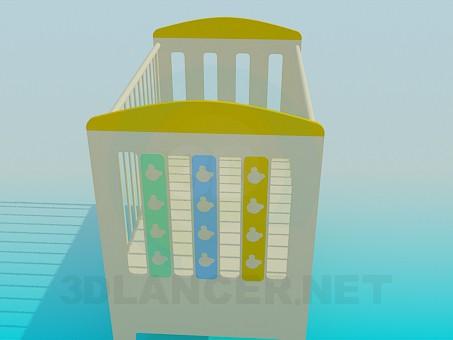modelo 3D Arriate de vivero - escuchar