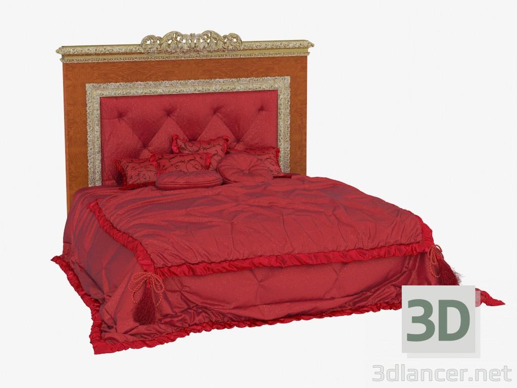 3d model Double bed in classic style 771,AR Arredamenti max